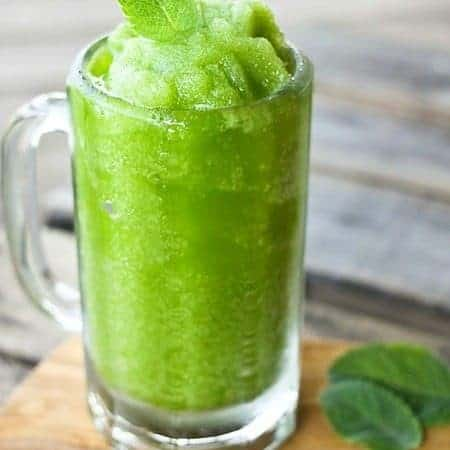 Mojito Icee {High Octane AND Mocktail Versions}
