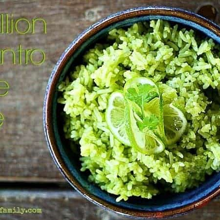 Scallion Cilantro Lime Rice