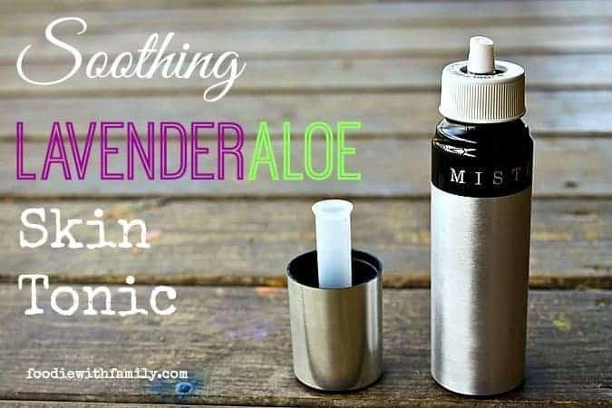 Soothing Lavender Aloe Skin Tonic
