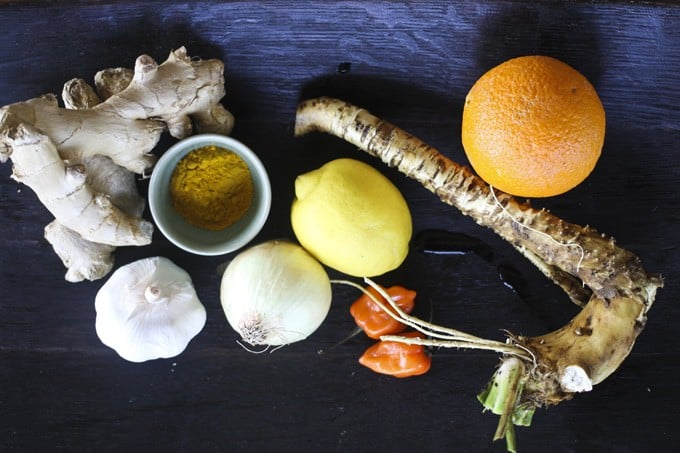Fire Cider: Delicious Health Tonic and Homeopathic Remedy (and cooking ingredient, to boot!) foodiewithfamily.com