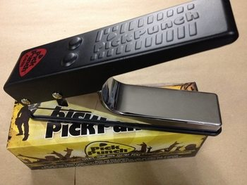 Pick Punch for guitarists and using up old credit cards or hotel key cards.