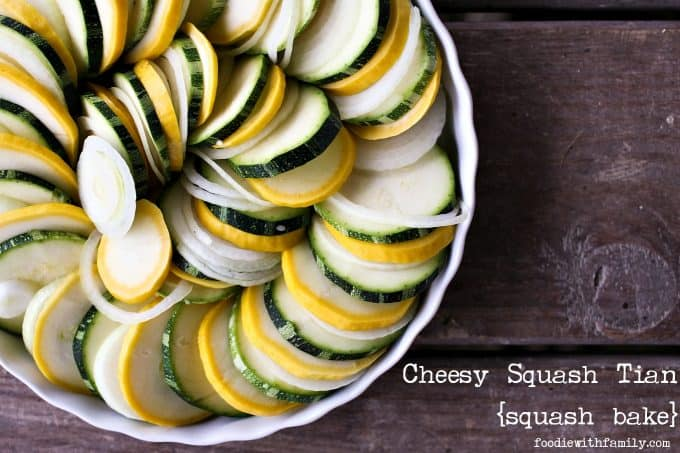 Cheesy Squash Tian a.k.a. Squash Bake from foodiewithfamily.com #JCPAmbassador #BH #Sponsored