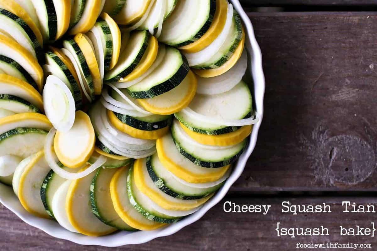 f5054ae68599 Cheesy Squash Tian {squash bake}