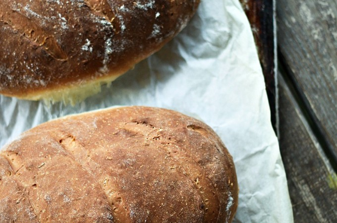 One Hour Swedish Limpa Bread
