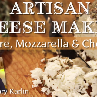 Artisan Cheesemaking: Chevre, Mozzarella, & Cheddar from foodiewithfamily.com and Craftsy