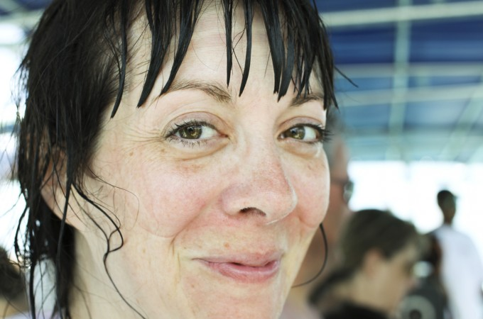 Snorkel Mask Marks on my face: Cruising on the Carnival Sunshine foodiewithfamily.com