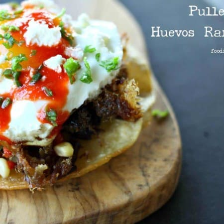 Pulled Pork Huevos Rancheros