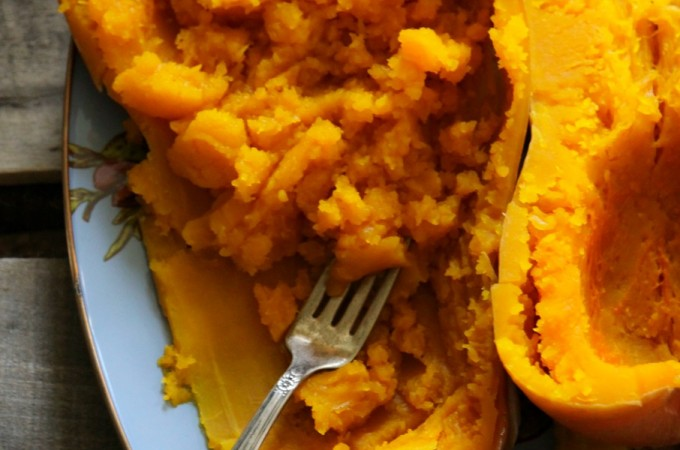 Use your slow-cooker to roast butternut squash.Easiest Method to Cook a Butternut Squash: No knives needed! foodiewithfamily.com