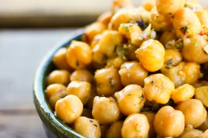 Marinated Chickpea Salad from foodiewithfamily.com