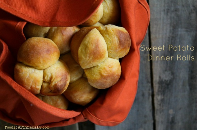 Easy, Perfect Sweet Potato Dinner Rolls from foodiewithfamily.com #JCPAmbassador #BH #ad
