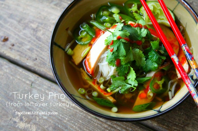 Turkey Pho {Leftover Turkey Makeovers}