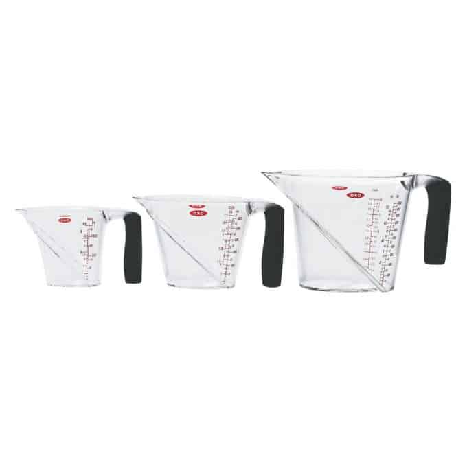 Kitchen Must-Have Item #9: Liquid Measuring Cups from foodiewithfamily.com
