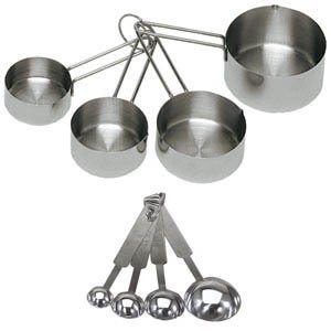 Must-Have Kitchen Item #8: Dry Measuring Cups and Spoons