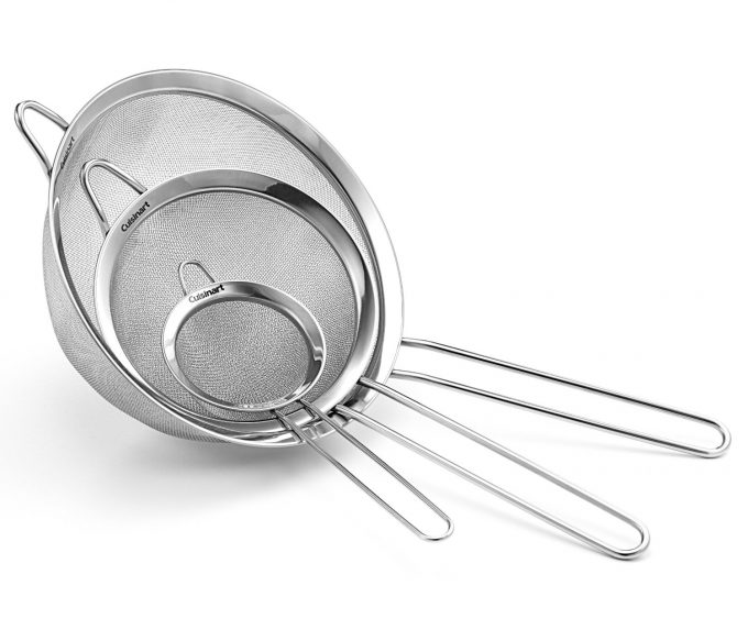 Kitchen Must-Have Item #10: Sieves. From foodiewithfamily.com