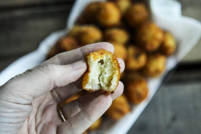 Cheesy Jalapeno Potato Poppers made in partnership with the US Potato Board