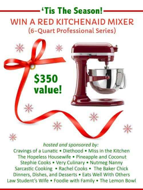 Kitchen Aid Professional Stand Mixer Giveaway