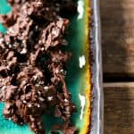 Spicy Chocolate Coconut Clusters; dark chocolate, toasted coconut, sea salt, and a wee bit of fire from foodiewithfamily.com