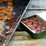 Homemade Cough Drops {lozenges} with lemongrass + ginger from foodiewithfamily.com