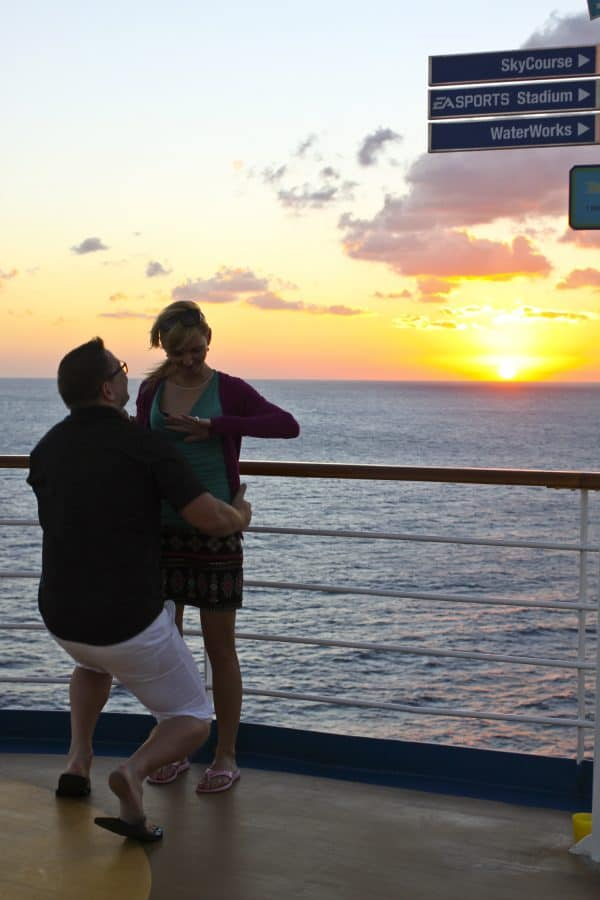 THE MOMENT! Carnival Breeze
