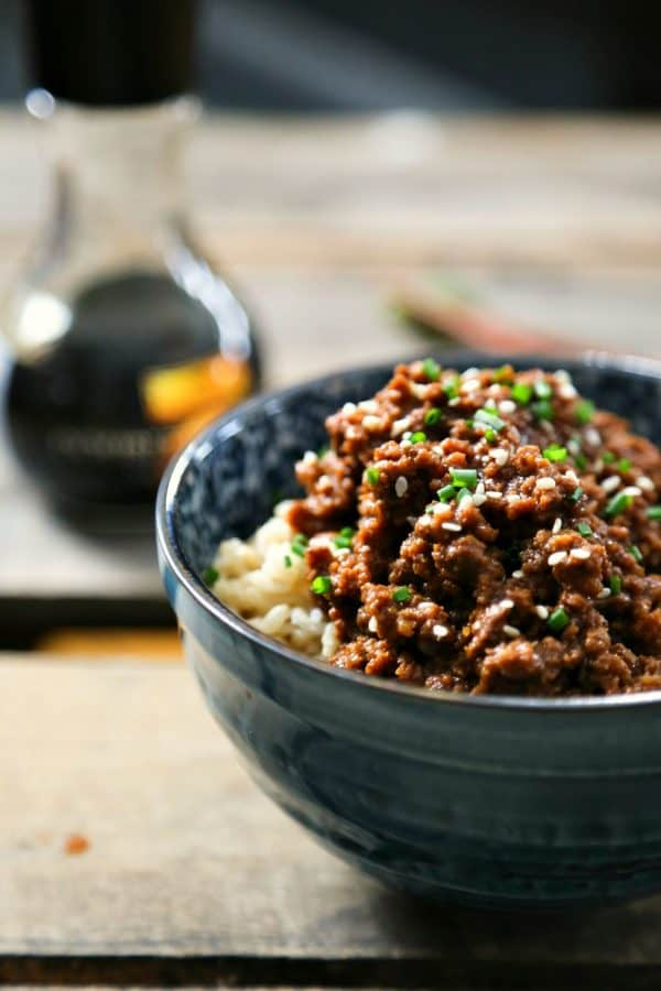 15 Minute Korean Style Beef. Slightly spicy and somewhat sweet, with a taste reminiscent of bulgogi from foodiewithfamily.com