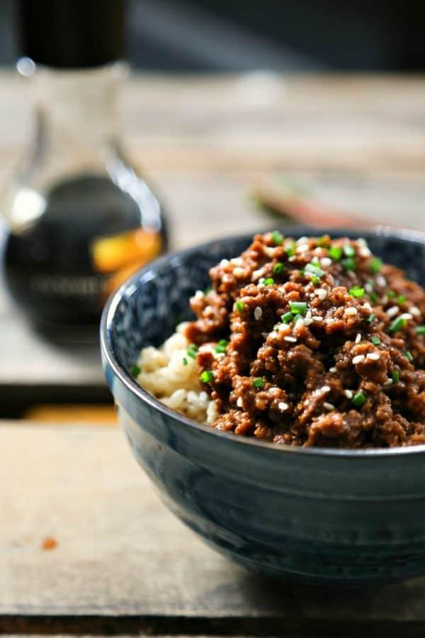 15 Minute Korean Style Beef