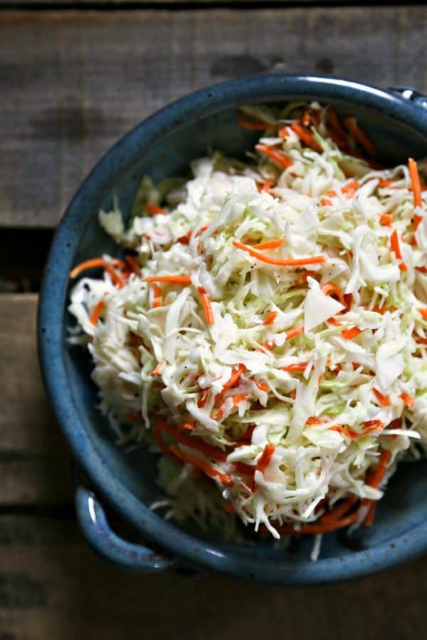 Classic Southern Style Buttermilk Coleslaw