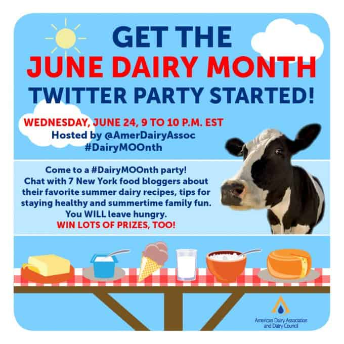 American Dairy Association and Dairy Council Twitter Party #DairyMOOnth