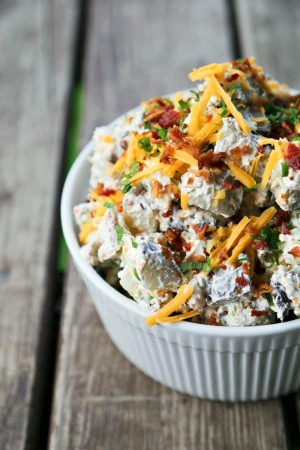 Loaded Baked Potato Salad