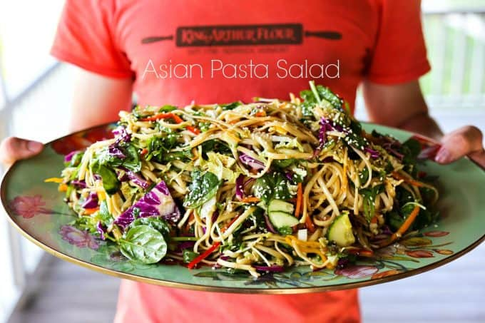 Asian Pasta Salad {Asian Noodle Salad}