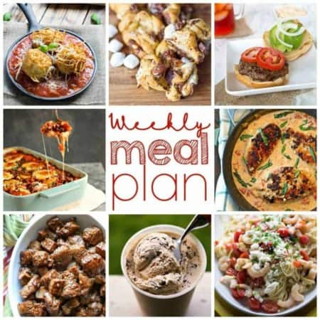 Easy Meal Plan Week of August 10th from foodiewithfamily.com