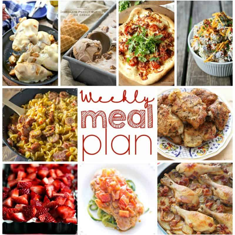 Easy Meal Plan Week 6 from foodiewithfamily.com