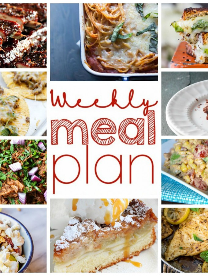Easy Meal Plan Week of August 31st from foodiewithfamily.com
