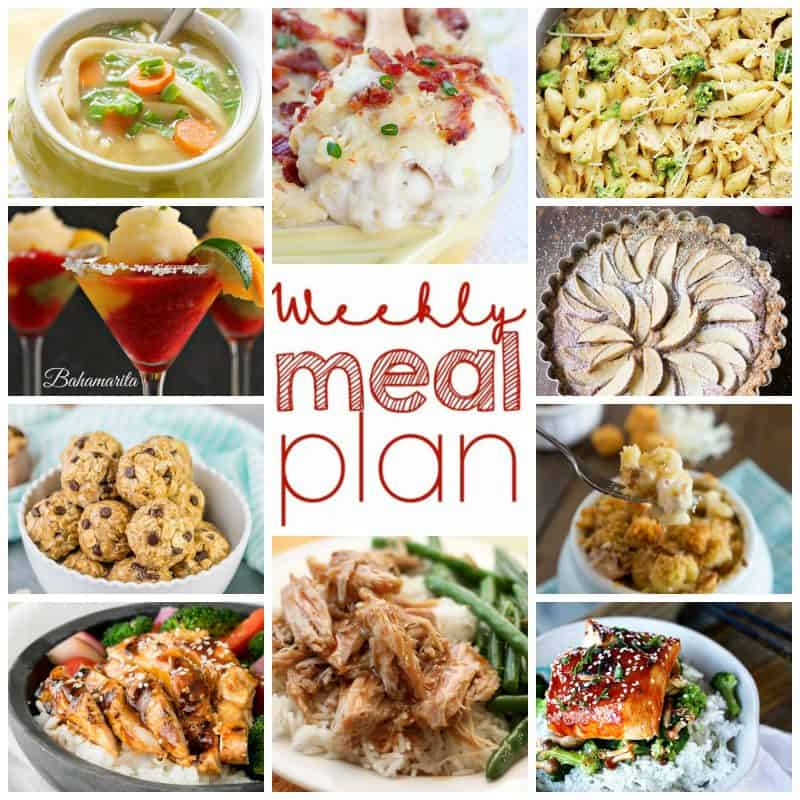 Easy Meal Plan Week of September 21st from foodiewithfamily.com