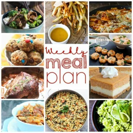 Easy Meal Plan Week of September 28th from foodiewithfamily.com