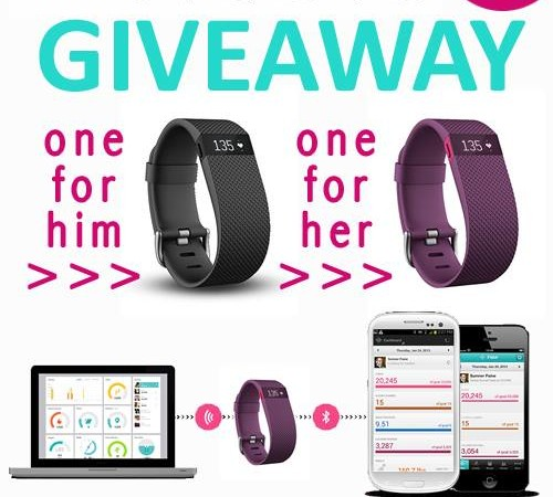 Fitbit Charge HR 2 pack giveaway