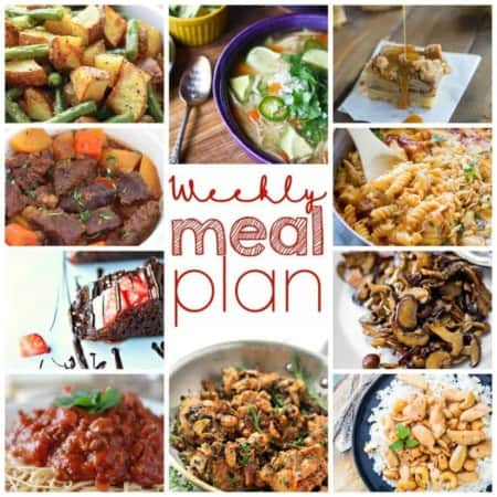 The Easy Meal Plan for September 21st through the 27th from foodiewithfamily.com