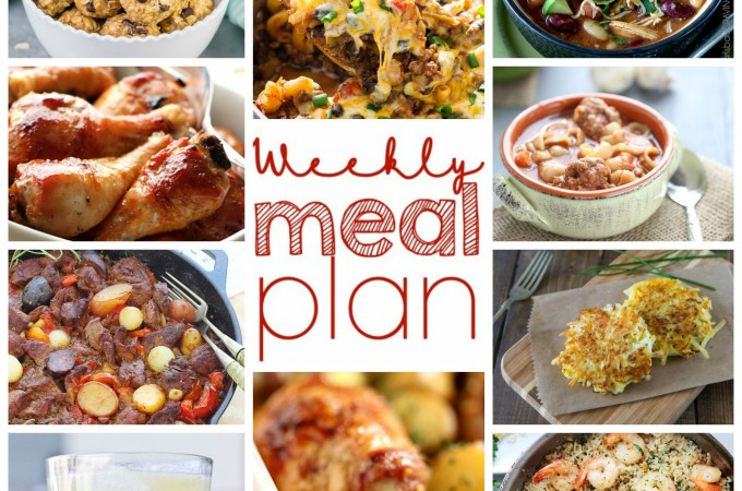 Easy Meal Plan: October 12-18