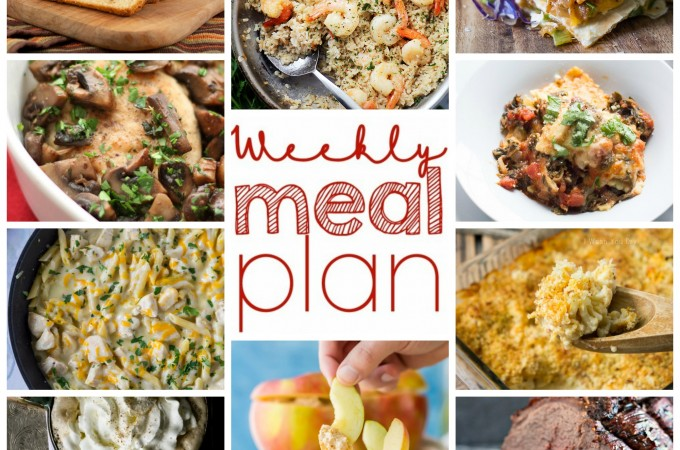 Easy Meal Plan October 19-25