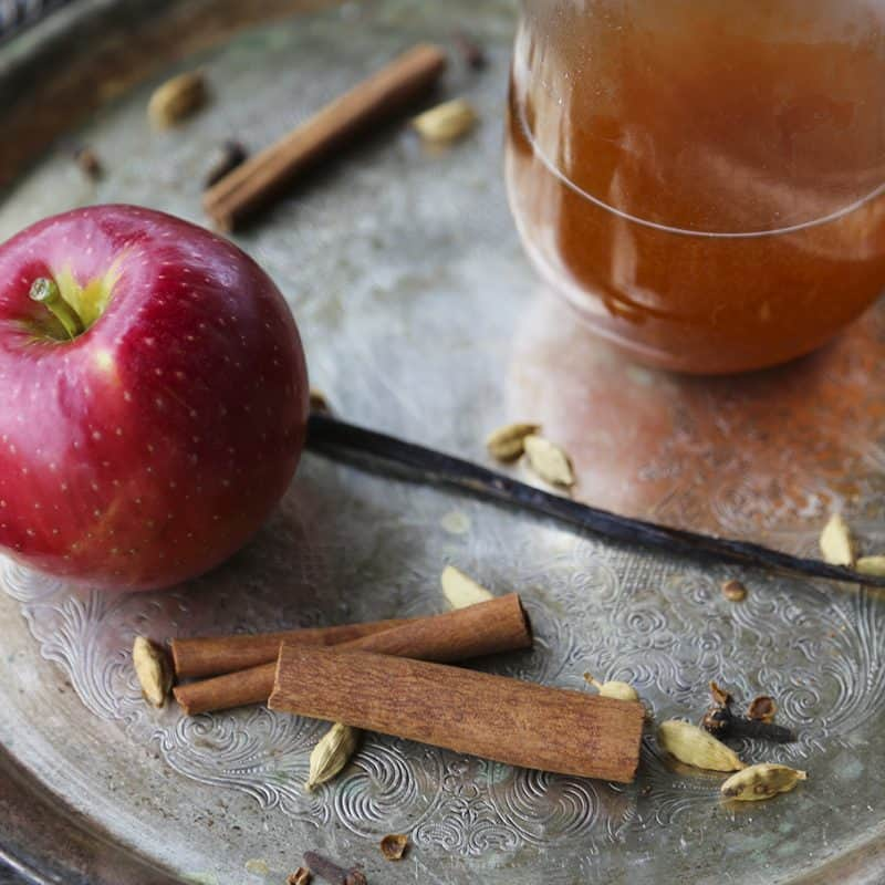 Best Slow-Cooker Mulled Apple Cider from foodiewithfamily.com