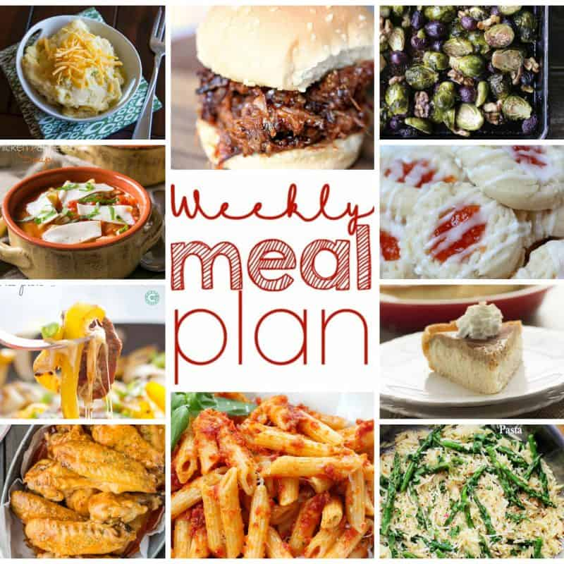 Easy Meal Plan November 9-15 from foodiewithfamily.com