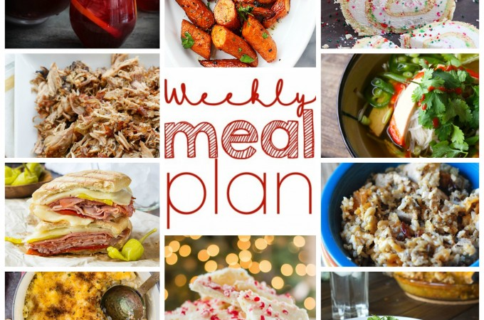 Easy Weekly Meal Plan from foodiewithfamily.com November 23-29