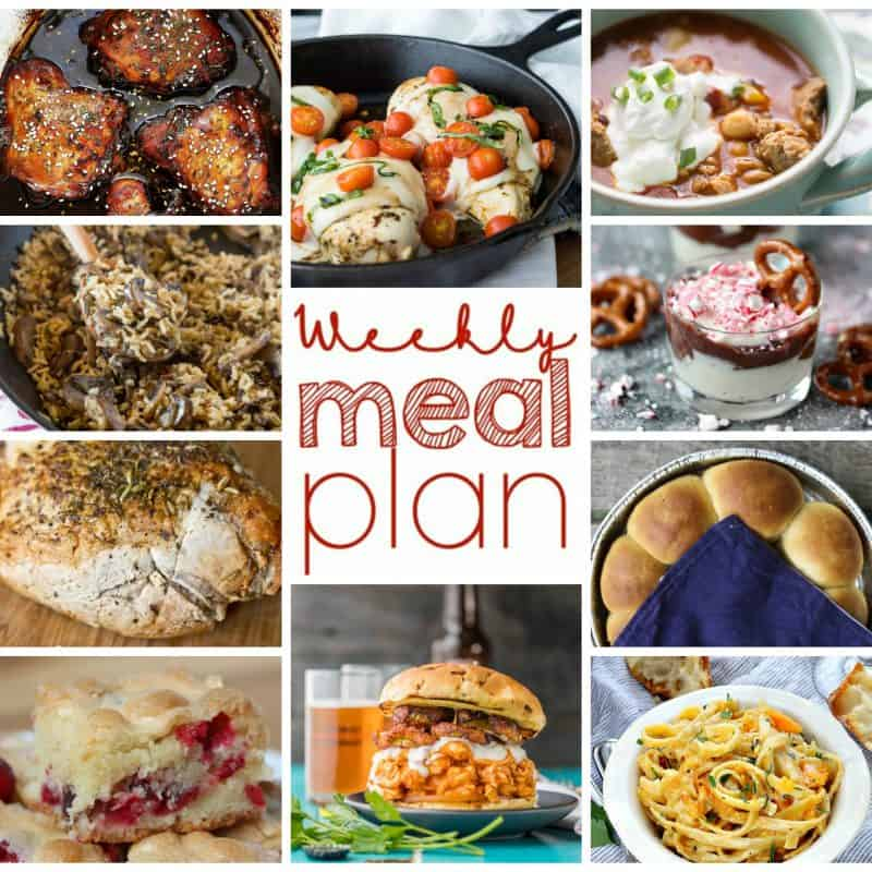 Easy Meal Plan November 30-December 6