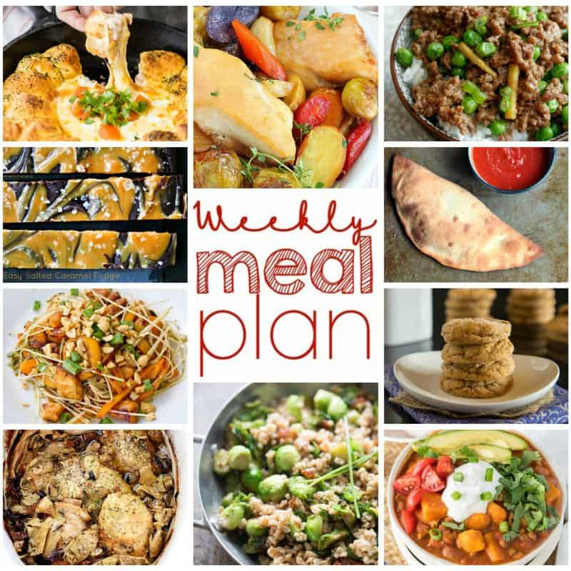 Easy Meal Plan December 7 – 13
