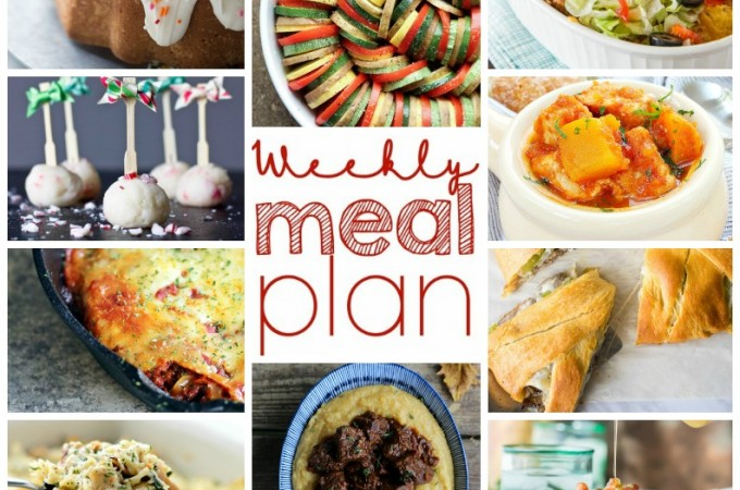 Easy Meal Plan December 14 – 20