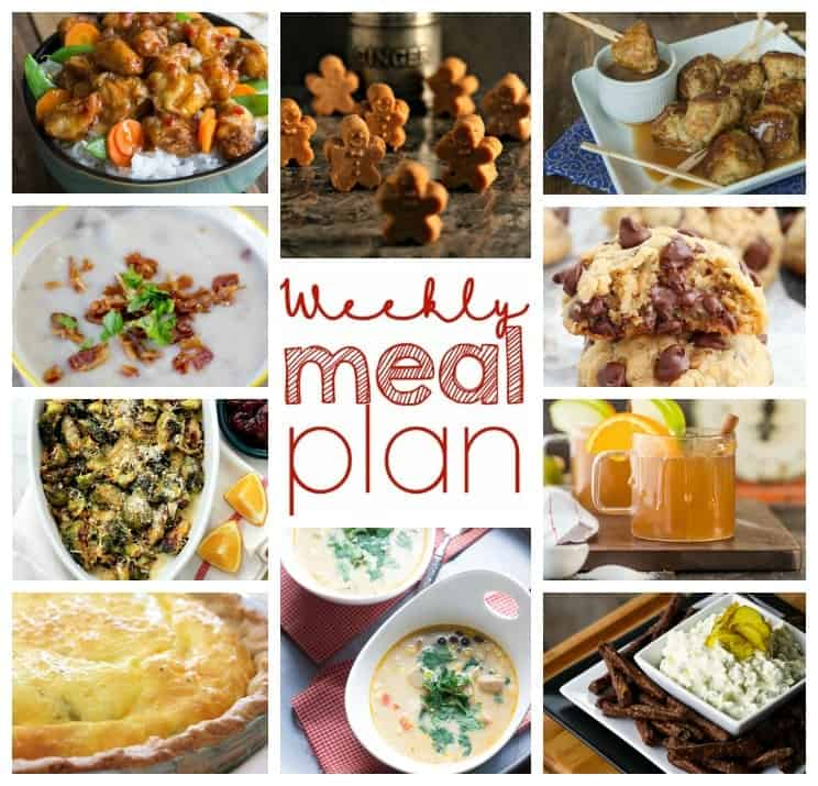 Easy Meal Plan December 21 – 27