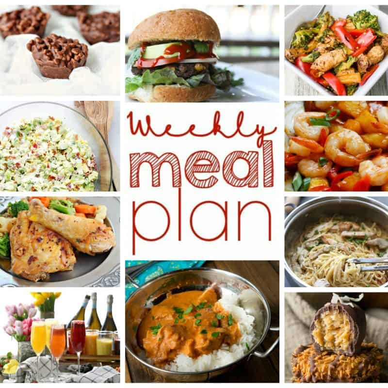 Easy Meal Plan December 28 – January 2