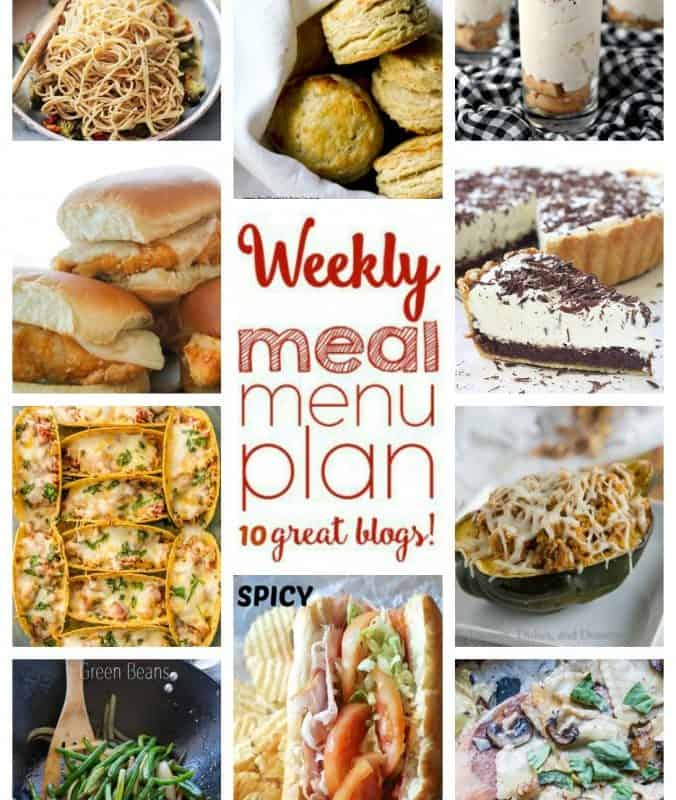 Easy Meal Plan Week 25 from foodiewithfamily.com