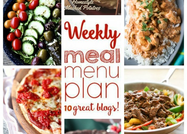 Easy Meal Plan January 11 – 17