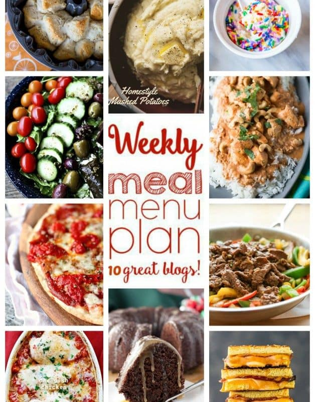 Easy Meal Plan Week 26 from foodiewithfamily.com