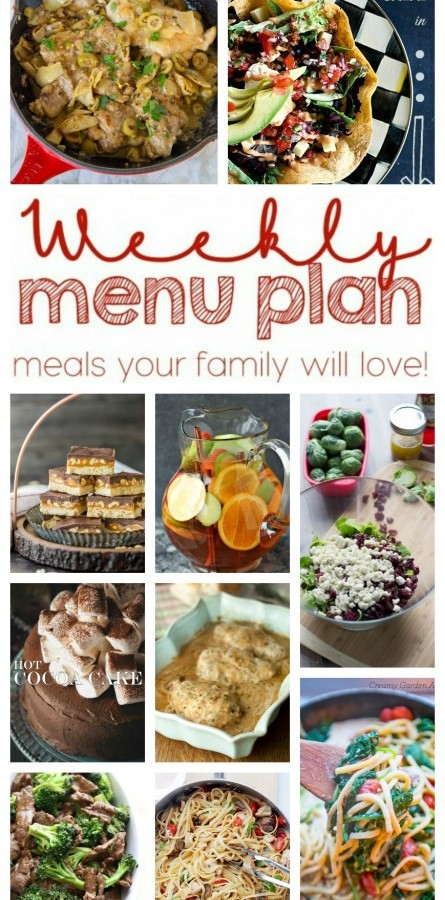 Easy Meal Plan Week 28 from foodiewithfamily and friends.